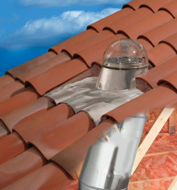 Tubular Skylights SK14RT (For A Tiled Roof)