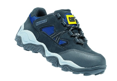 Buy Caterpillar Primal Blue/Black Casual Safety Trainers