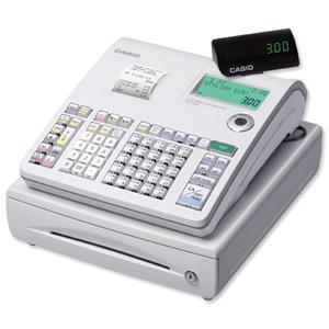 Buy Casio Cash Register 7 segment 2x 10 Digit Customer 8 Digit 14 Lines/sec W400xD450xH237mm Ref SES-300MD