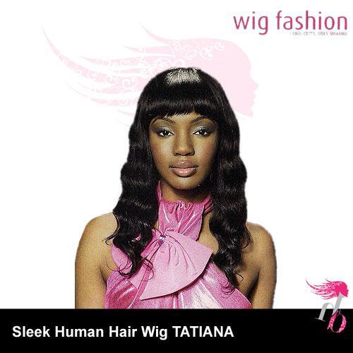 Sleek Human Hair Wig