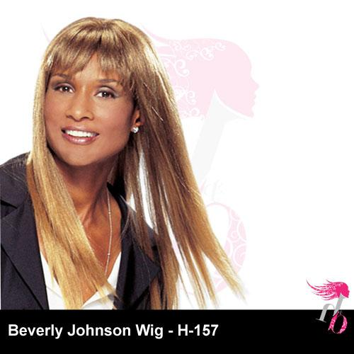 Beverly Johnson Human Hair Wig