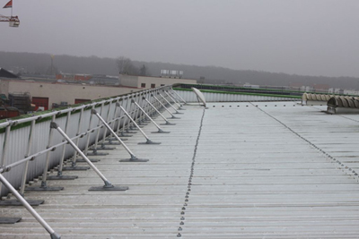 Buy KeeGuard Topfix Roof Edge Protection for Standing Seam and Metal Profile Roofs