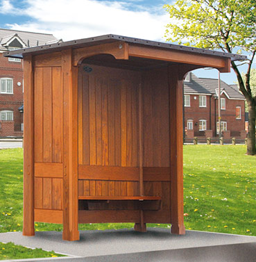 Buy Eaton bus shelter