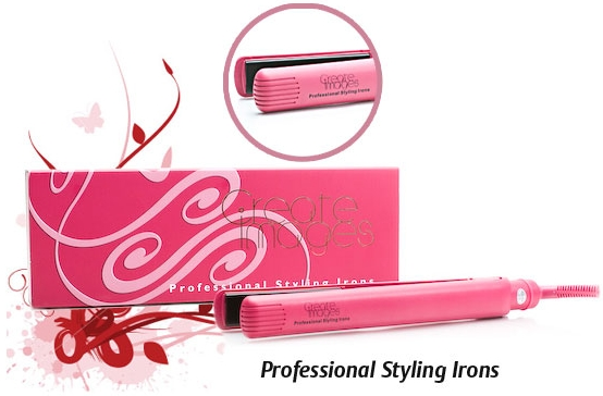 Create Images Classic Styling Iron Pink