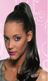 Buy Coral Ponytail Extension