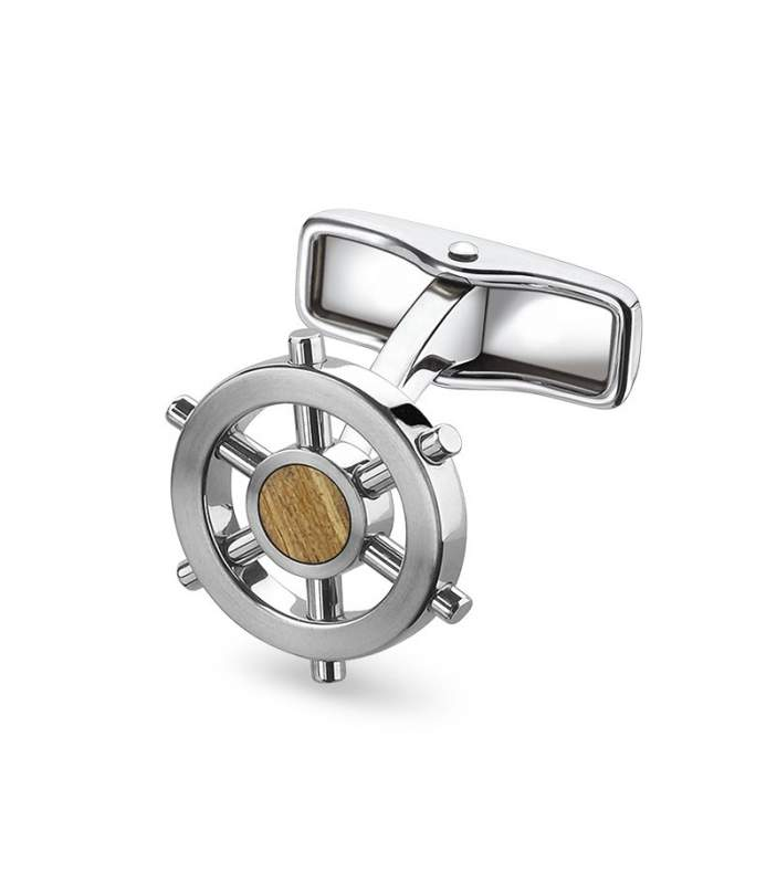 Helm Wheel Cufflinks
