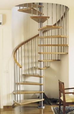 Aladin Inox Spiral Staircase