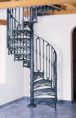 Albert Cast Iron Spiral Staircase