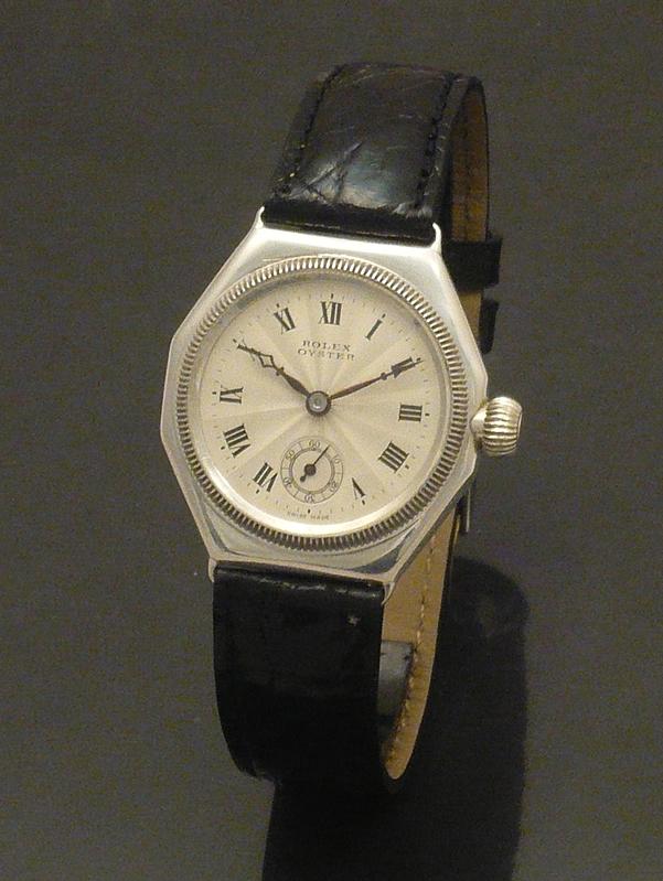 Rare 1920s octagonal Rolex oyster Watch