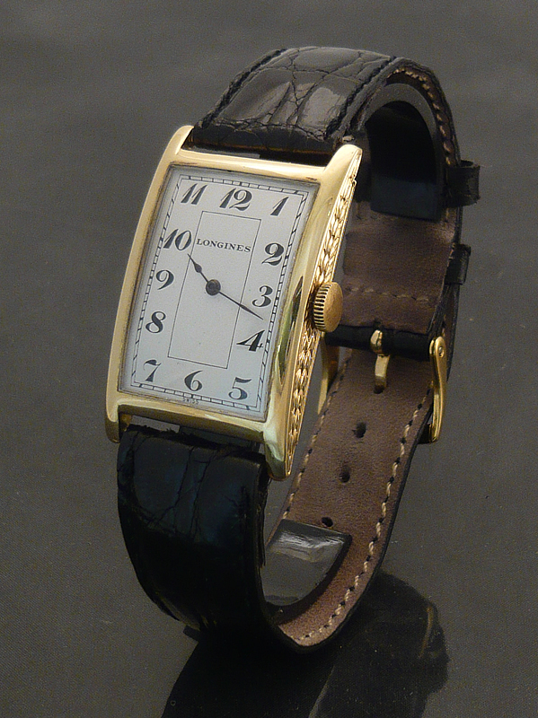 Longines 1920s 18ct gold Watch