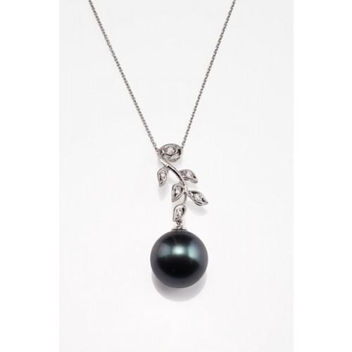Buy Black Tahitian Pearl Pendant