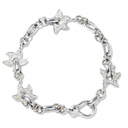 Buy Diamond Starfish Bracelet