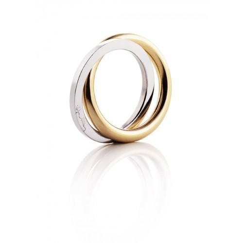 Efva Attling Gold Twosome Ring