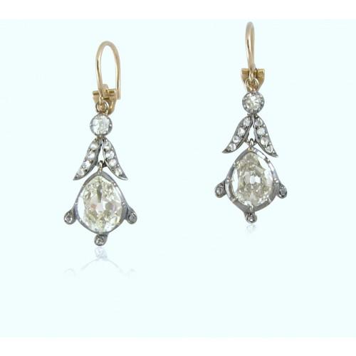 Buy Antique Diamond Earrings