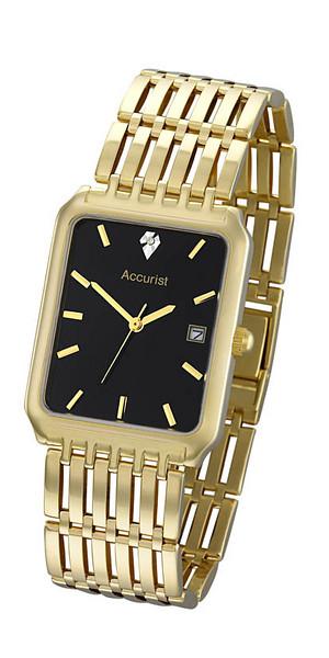Buy Accurist 9ct Gold GD1462 Men's Watch