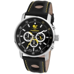 Buy Poseidon Classic Leather Watch