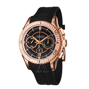 Buy Hamilton Men's Seaview Auto Chrono Watch