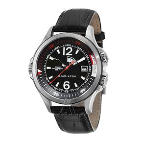 Buy Hamilton Men's Khaki Navy GMT Watch