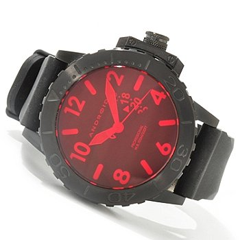 Buy Android Men's Divemaster Trans-52 Limited Edition Night Vision Quartz Rubber Strap Watch