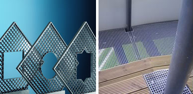 Buy Custom-made gratings with cut-outs