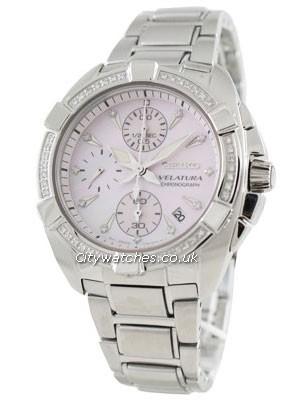 Buy Seiko Ladies Diamond Velatura Watch SNDZ37