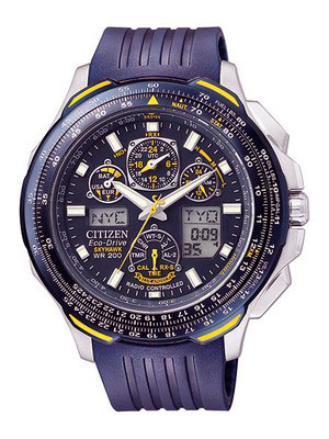 Buy Citizen Eco-Drive Radio Controlled Skyhawk JY0064-00L Men's Watch