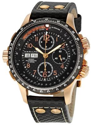 Buy Hamilton Khaki X-Wind Automatic H77696793 Men's Watch