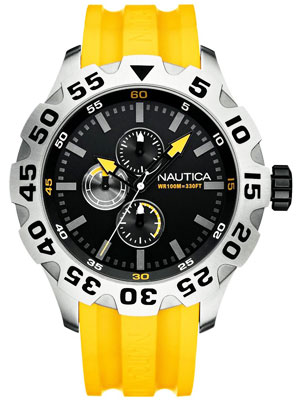 Buy Nautica BFD-100 Multifunction N15566G Mens Watch