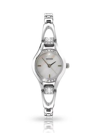 Buy Sekonda Ladies Quartz Analogue Stone Set Watch