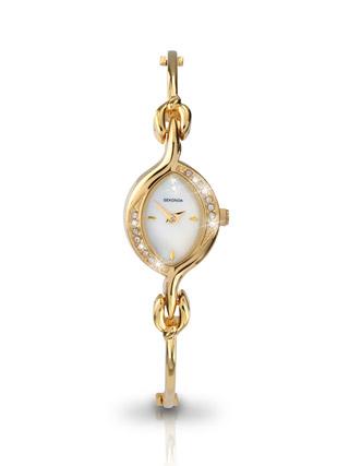 Buy Sekonda Ladies Gold Plated Watch