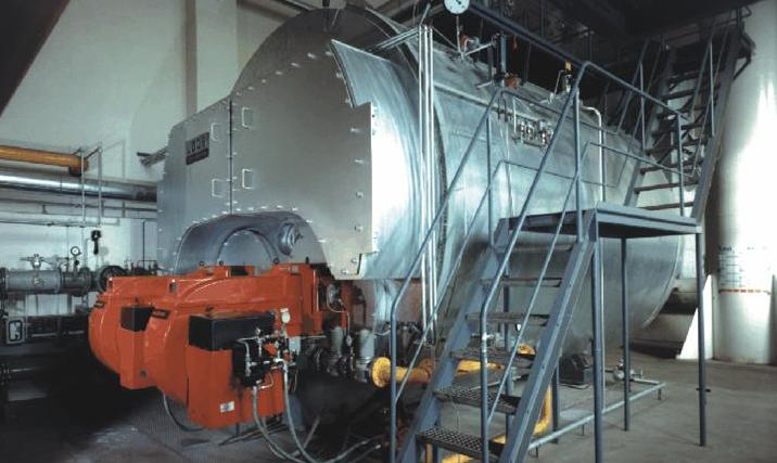Universal Twin Furnace Steam Boiler buy in Oldbury