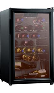 Buy Baumatic BWE41BL Wine Cooler