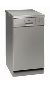Buy Whirlpool ADP451/IX Slimline Dishwasher