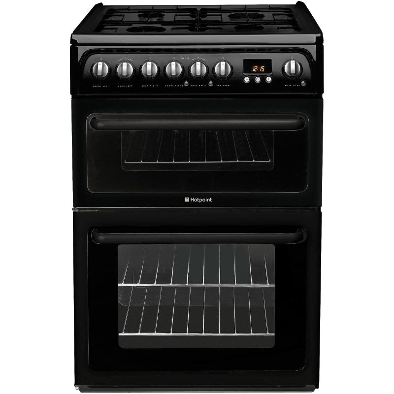 Buy Hotpoint 60CM black gas cooker