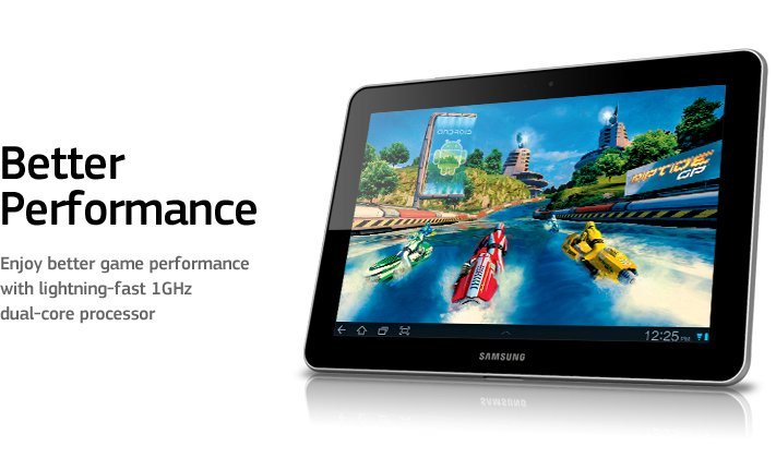 Buy Galaxy Tab 10.1 (3G + WiFi version) Tabletes