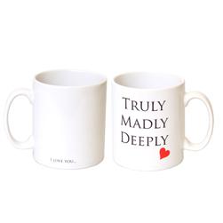 Buy Truly Madly Deeply I Love You Mug