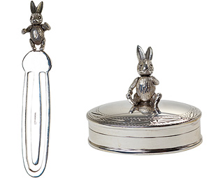 Buy Articulated Bunny Rabbit Bookmark & Pill Box