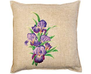 Buy Set of Three Flower Cushion