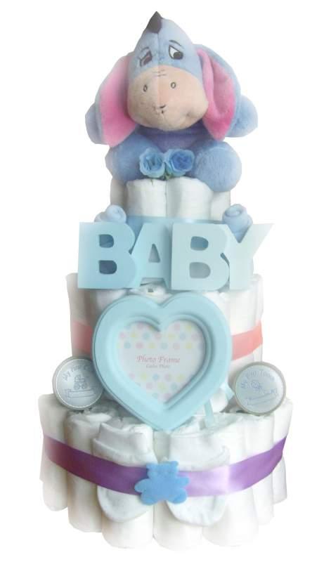 Buy Eeyore Baby Boy 3 Tier Nappy Cake