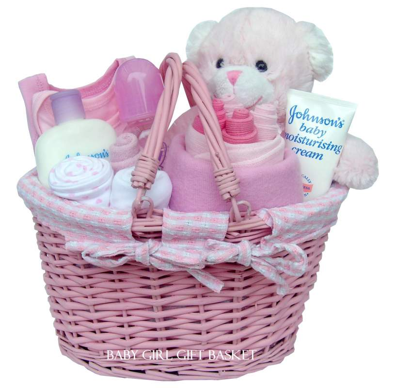 Baby Gift Baskets For Girl : Baby girl gift hamper buy price