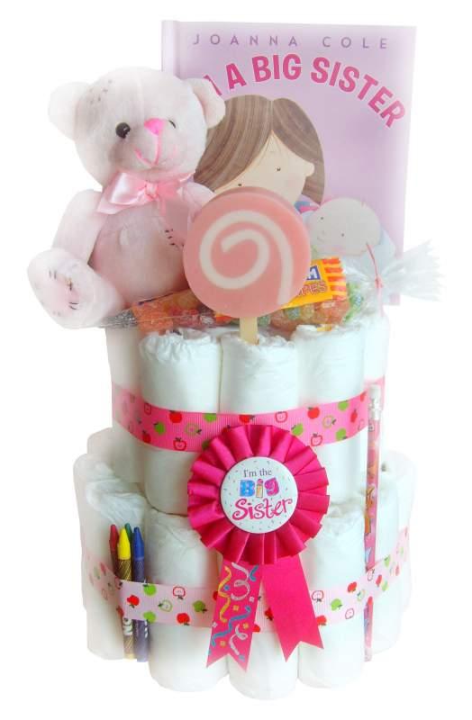 Buy Best Big Sister Nappy Cake