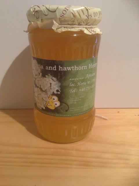 Buy Accacia and hawthorn honey
