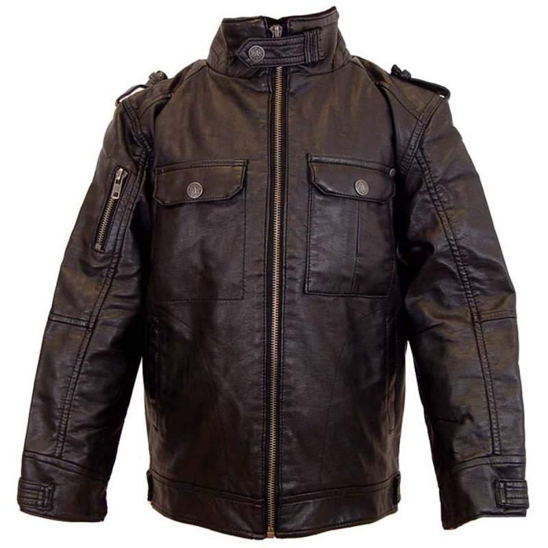 Buy Leather Look 'Biker' Jacket