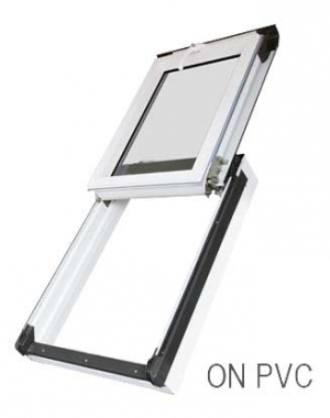 Buy ON PVC R3 02 size: 55 x 98cm Top Hinged PVC roof window OKPOL