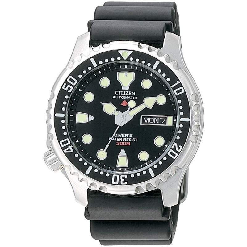 Buy Citizen Automatic Men's Black Divers Watch NY0040-09EE