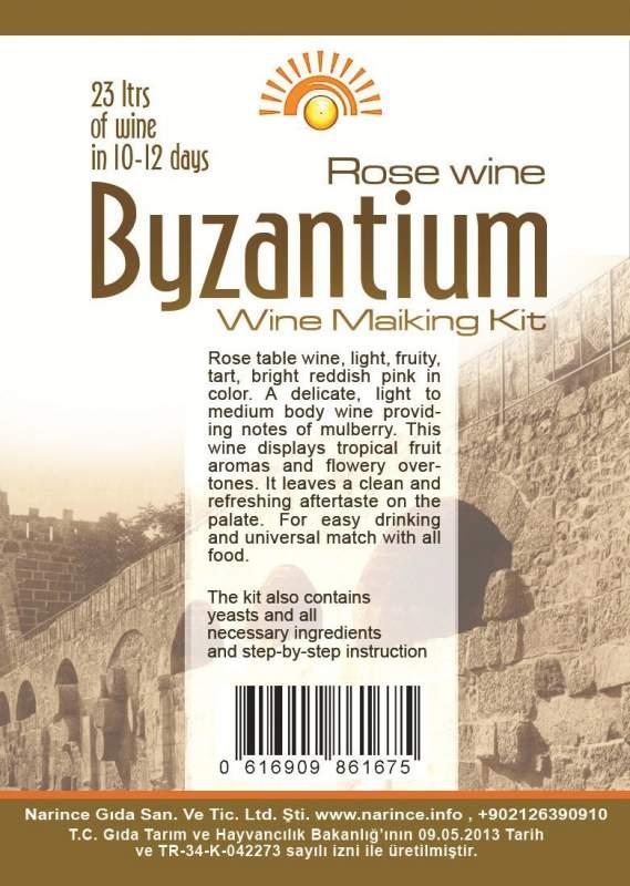 Buy Wine Making Kit Byzantium