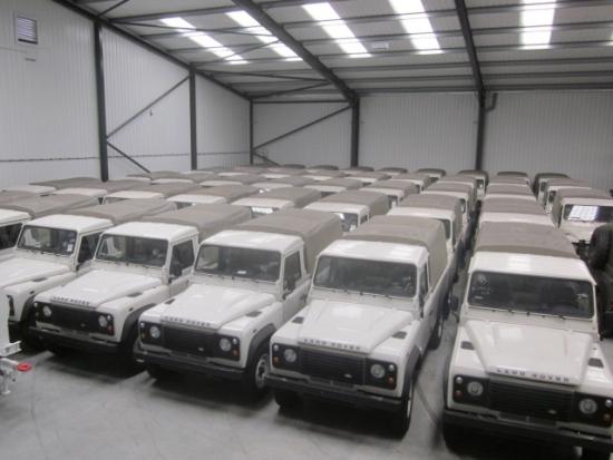 Buy Новый Land Rover Puma 110 пикап-фургон