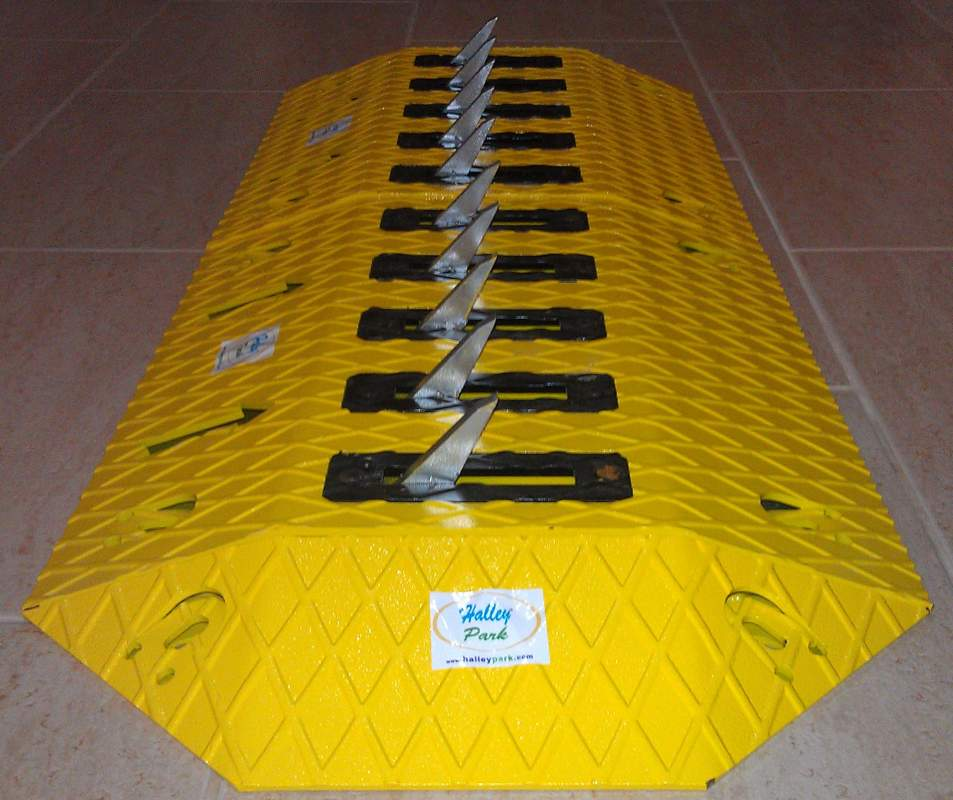 Buy Surface Mount Traffic Spike Barrier System - Tyre Killer - Tire Killer