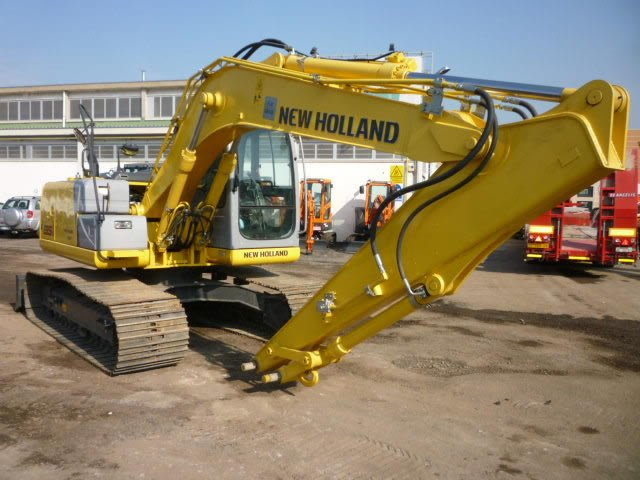 Buy 2009 NEW HOLLAND E135 TRACK EXCAVATOR