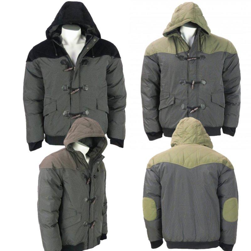 Buy Wholesale Mens Hooded Bomber Padded Winter Jacket